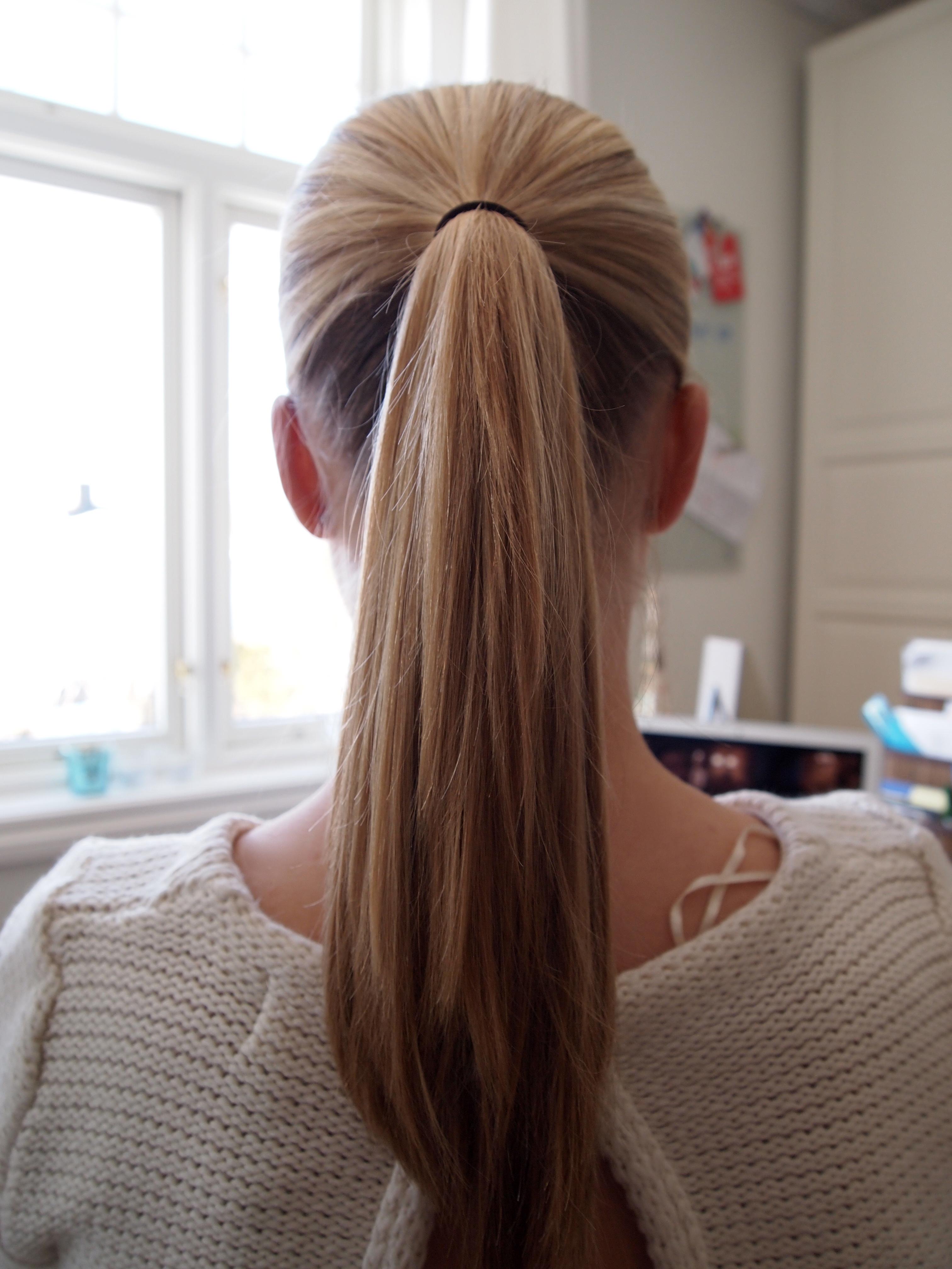 How To Make A Classical Ballet Bun Medium To Long Hair The